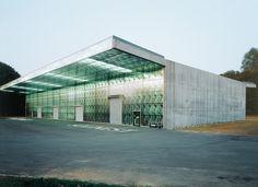 Herzog and De Meuron Ricola Storage Building  #architecture #demeuron #herzog Pinned by www.modlar.com