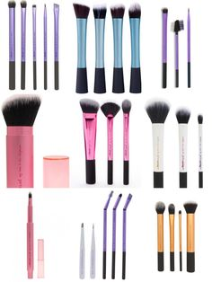 Real Techniques brushes and they are CRUELTY FREE! Love it!