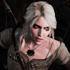 Cirilla by MonsterrBoots | Ciri has the most beautiful eyes I have ever seen
