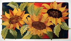 Marjan Kluepfel: Fabric Artist-Quilt Teacher - Flowers Gallery