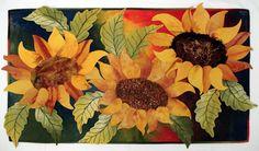 Marjan Kluepfel: Fabric Artist-Quilt Teacher - Flowers Gallery