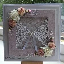 Debbie Stevens using Tattered Lace dies Wedding Anniversary Cards, Wedding Cards, Card Making Inspiration, Making Ideas, Scrapbook Cards, Scrapbooking, Tattered Lace Cards, Card Making Designs, Shabby Chic Cards