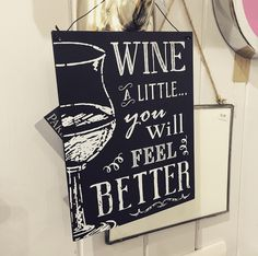 Ooo we do love a wine! #WineWednesday