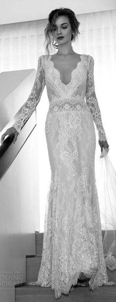 Lihi Hod 2015 Wedding Dresses | Wedding dress, Vintage inspired ...