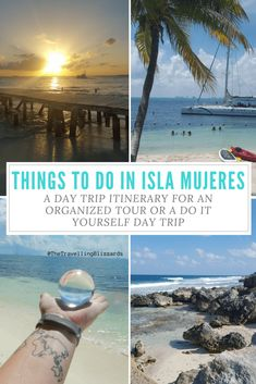 Planning your day trip to Isla Mujeres has never been easier! Use this Isla Mujeres itinerary to plan the perfect day trip to Isla Mujeres, Mexico. Take a catamaran to Isla Mujeres or plan a ferry from Cancun to Isla Mujeres. Mexico Vacation, Mexico Travel, Maui Vacation, Beach Vacations, Florida Travel, Family Vacations, Beach Travel, Europe Destinations, Puerto Vallarta