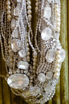 Now, that's a necklace #wedding #jewelry