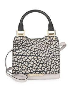 Jimmy Choo | Amie Embossed Leather Handbag | SAKS OFF 5th