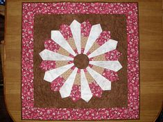 Art Quilt Contemporary Quilted Wall Art Red Brown Red Brown