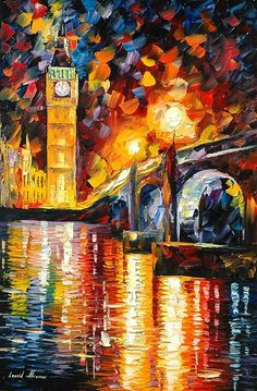 London - By Leonid Afremov