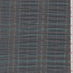 Lavender Grey Plaid Suiting #19695