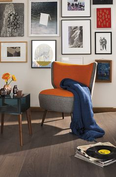 Oak Stone, BOEN flooring Stone Flooring, Natural Living, Wingback Chair, Plank, Accent Chairs, House Styles, Bonsai Trees, Urban, Inspiration