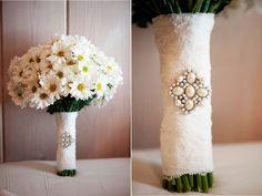 Simple Daisy Wedding Bouquets | Agora Vamos Casar: Inspiração: Margaridas no casamento