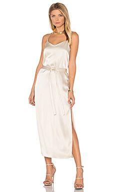 2f84d0a22e93584 Satin Cami Slip Dress Атласные Платья Невесты, Атласные Платья, Платья  Миди, Подружки Невесты