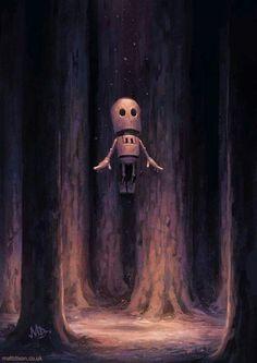 """ wanderlust "" by Matt dixon #lonelyrobots transmissions 3 series"