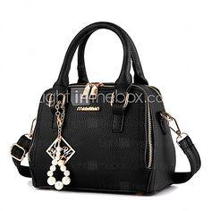 M.Plus Women Fashion PU/Faux Leather Messenger/Shoulder Crossbody Bag/Handbag Tote 2017 - $19.9