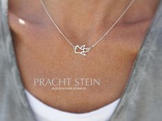 Silberketten - JULE - SCHUTZENGEL - ein Designerstück von Prachtstein bei DaWanda