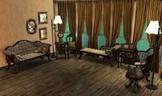 Victorian Gothic Set - AdeleVK - Downloads for The Sims 2 by Adele - Formerly 'adele-sims.com'