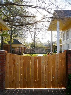 It's easy & fun to make your fence sparkle with marbles.