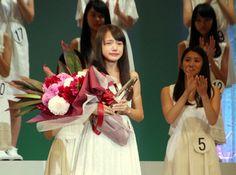 アミューズオーディション:グランプリに大阪在住の中1 「ベッキー似」の清原果耶さん