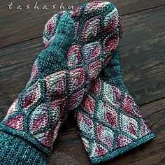 Ravelry: Winter Story Mittens pattern by Svetlana Gordon