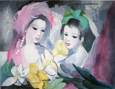 marie laurencin | Marie Laurencin - Les belles aux magniaulias