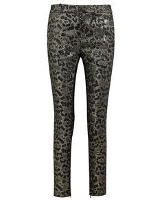 Gucci metallic leopard-jacquard slim-leg pants, $1,450 net-a-porter.com - Photo: Courtesy of net-a-porter.com