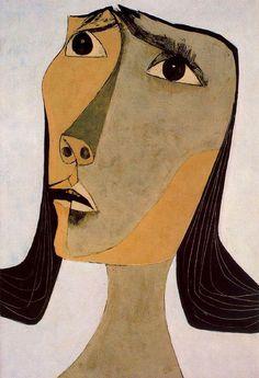 by Oswaldo Guayasamin Quito, Ecuador) Abstract Portrait, Portrait Art, Abstract Art, Modern Art, Contemporary Art, Illustration Art, Illustrations, Pablo Picasso, Surreal Art