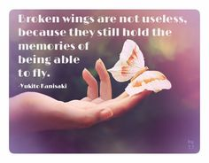 Manager - Leadership - Training - Culture Broken wings are not useless, because they still hold the memories of being able to fly. CLICK THE IMAGE FOR MORE!