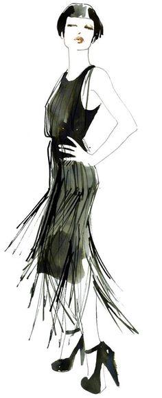 ::black dress::