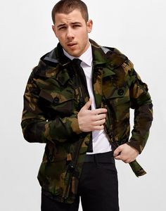 Nick Jonas for Harper's Bazaar Man Singapore by Yu Tsai