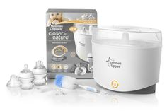 #Tommee Tippee Closer to Nature #Electronic Steam #Steriliser available online at http://www.babycity.co.uk/