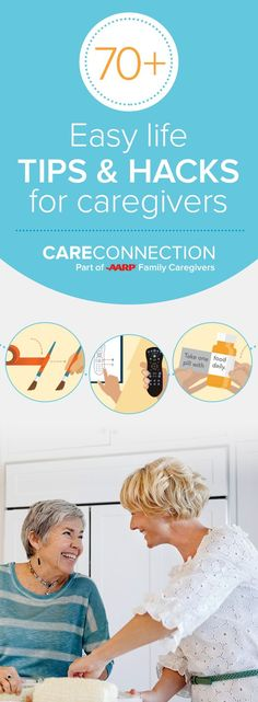 Find 70+ DIY hacks on CareConnection. Built for caregivers by caregivers, CareConnection has life hacks to help ease the caregiving journey. Create a no slip-grip, extend a zipper and much more. Or share your own ideas on CareConnection. Your input can be used to make new pins that help caregivers like you.