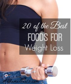 If you are looking for great foods to eat while you are trying to update your weight loss game, then check out the 20 of the best foods for weight loss!
