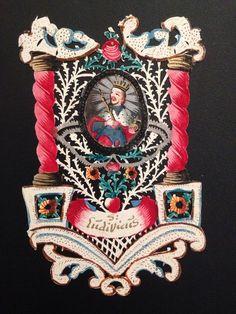 Canivet 18e Saint Ludovic Aquarelle Image Pieuse Sanctus Ludovicus XVIIIe