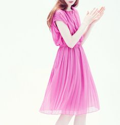 j. crew. how perfect this would be as a bridesmaids dress (fun color, too)
