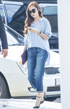SNSD Jessica Jung's Airport Fashion ♥ : Photo