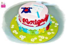 "Despedida da Escola ""school fondant cake"
