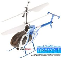 Nine Eagles Bravo III 312A 4 Channel RC Helicopter