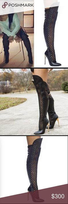 Emily B. Legend Boot Never worn over the knee boot. Very sexy! If interested, make an offer! Emily B Shoes Over the Knee Boots