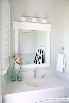 Come and take a tour of our outdoor pool bathroom! We added simple features that every pool bathroom should include. A great addition for any pool!