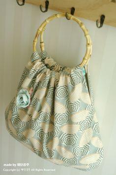 Bamboo Handle Bag Tutorial