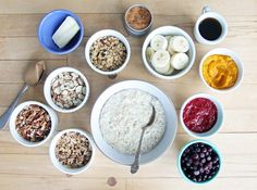 Pin for Later: 50+ Cold-Weather Breakfast Recipes Choose-Your-Own-Adventure Steel-Cut Oats Get the recipe: choose-your-own-adventure steel-cut oats
