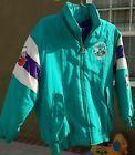For Sale - Rare Vintage 90s NBA Charlotte Hornets Logo Athletic Jacket Youth M Starter - See More At http://sprtz.us/HornetsEBay