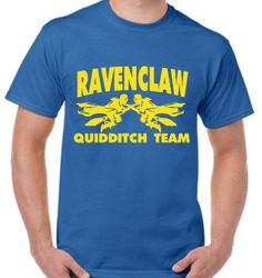 Ravenclaw Quidditch team Hogwarts t-shirt Harry Potter
