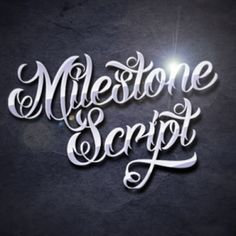 Milestone Script font - modern poster design font. You can buy this typeface here: http://www.123creative.com/gothic-decorative-fonts/713-modern-poster-design-font-truetype-and-opentype.html  (modern, design, script, poster, swash, typeface, opentype, truetype, bold handwritten font, written font, handwriting font, swashes font, designer font, commercial font, logo, bold, calligraphy, tattoo, ornamental)