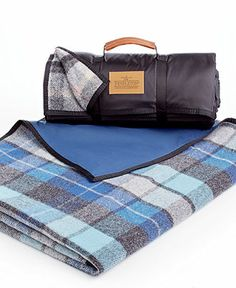 Pendleton Blankets, Roll-Up Outdoor Nylon Reverse Wool Blanket - Blankets & Throws - Bed & Bath - Macy's Camping Must Haves, Picnic Blanket, Outdoor Blanket, Roll Up Design, Camping Gear, Backyard Camping, Tent Camping, Glamping, My Shopping List
