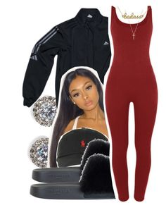 """11/23"" by lookatimani ❤ liked on Polyvore featuring Nadri, adidas, Polo Ralph Lauren, Givenchy, Kris Nations and Gucci"