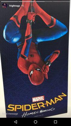Primer poster promocional de Spider-Man Homecoming. Os informamos de todo sobre la película en http://www.la-frikiteka.com/tag/spider-man-homecoming