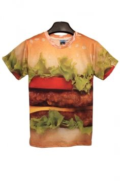 Another burger t-shi