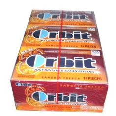 I'm learning all about Orbit Sugarfree Gum Sangria Fresca Pack at @Influenster!
